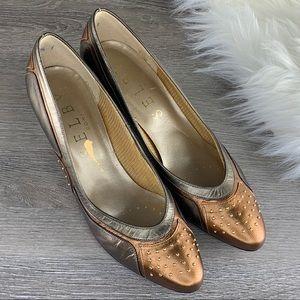 ❤️Selby Comfort Flex Gold/Bronze Size 7